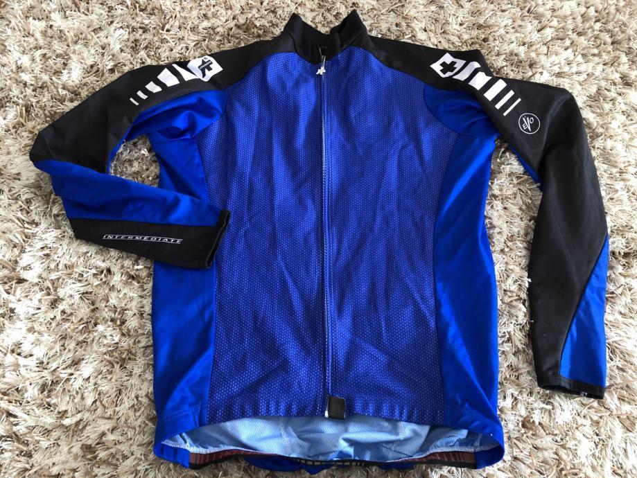 ASSOS SWISS biciklisticka windstopper jakna XL (L)
