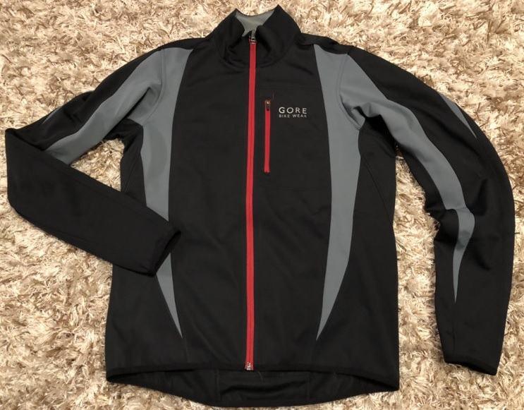 GORE BIKE WEAR biciklisticka windstopper softshell jakna vel. M