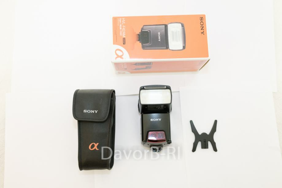 Sony HVL-F42AM blitz flash za sony minolta a-mount DSLR