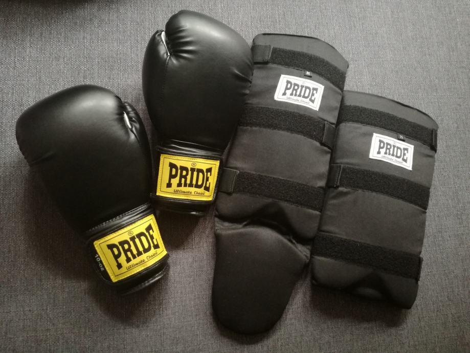 PRIDE Trening rukavice i štitnici za potkoljenice