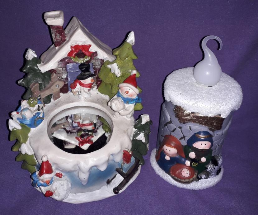 Božićne dekoracije, lot