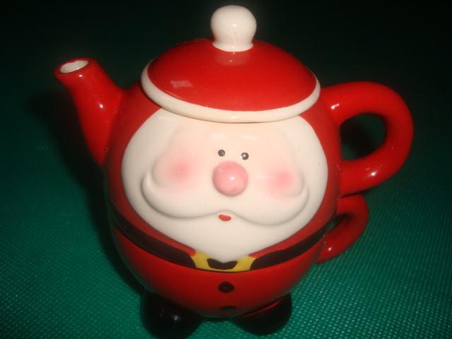 Djed Božićnjak čajnik