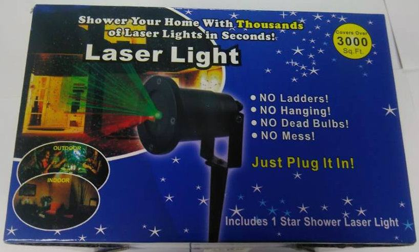 LASER LIGHT / SHOWER LASER LIGHT