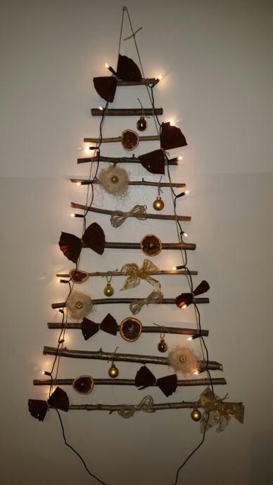 Božićna drvca za zid