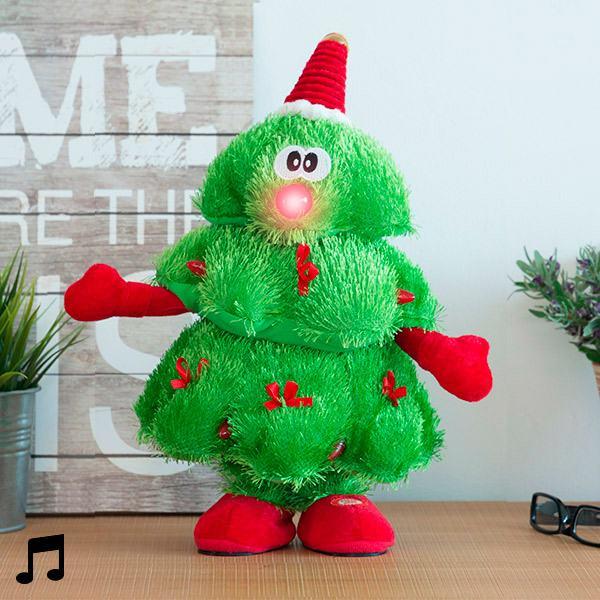 Božićno Drvce Koje Pjeva i Pleše s LED Svjetlima