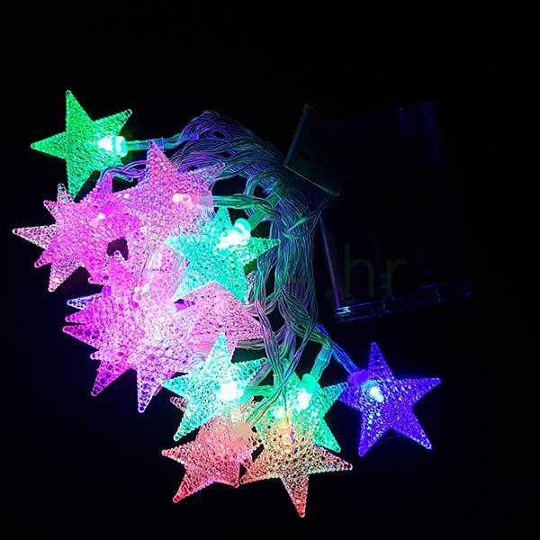 LED zvijezdice na baterije