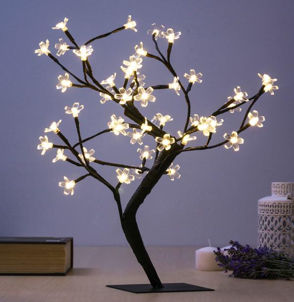 Ukrasno Drvce s Cvjetovima (48 LED)