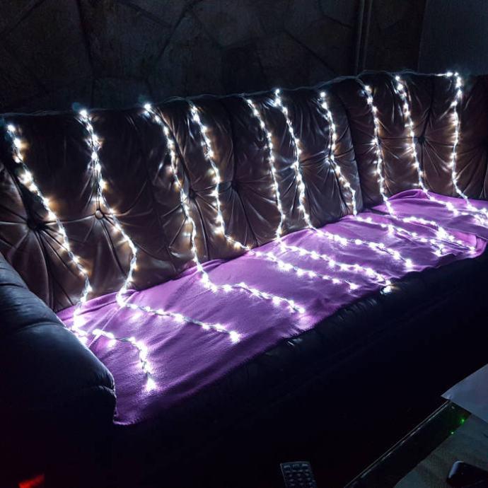 LED zavjesa 2x1.1m