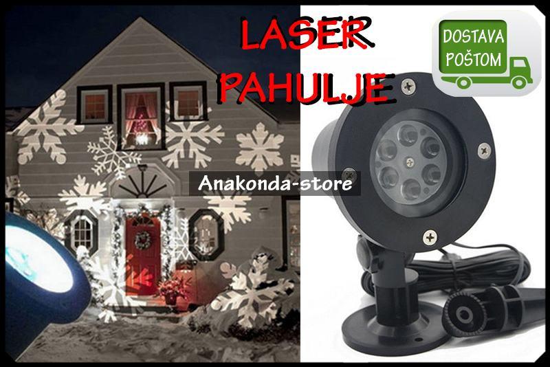 PAHULJE - Božični Laser Projektor za Disko Party Nova Godina ★RAČUN★