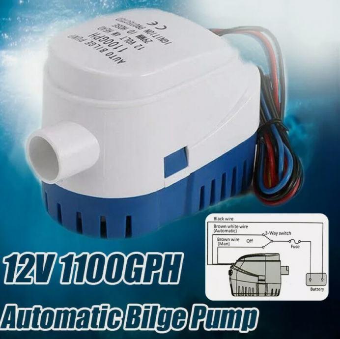 kaljuzna pumpa 1100 GPH