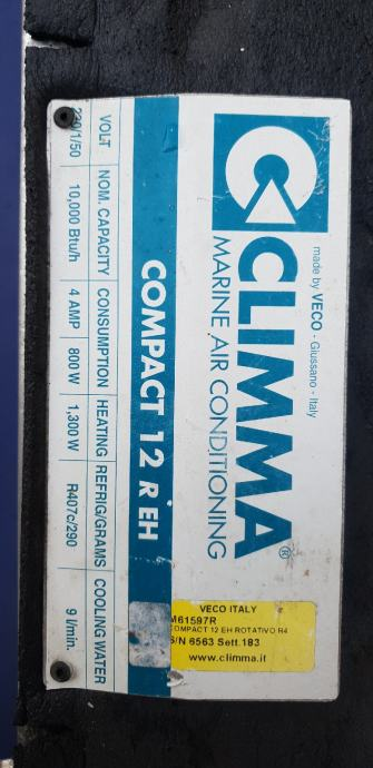 Brodska klima COMPACT 12 R EH