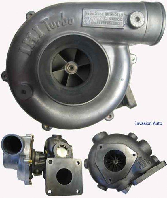 Original novi IHI turbine za Yanmar motore više vrsta