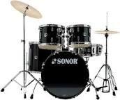 SONOR 507 CRNI+ČINELE