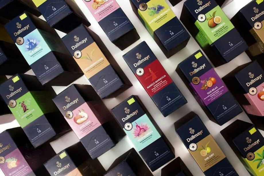 DALLMAYR čajevi u piramidalnim vrećicama, 20 komada