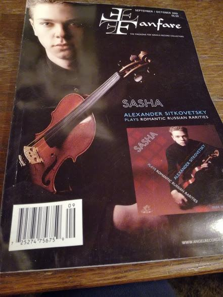 Časopis Fanfare  - klasika&diskografija, jedan broj