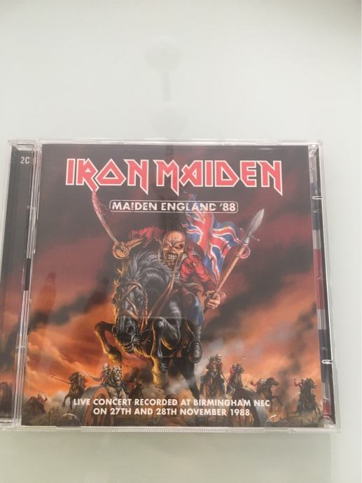 Iron Maiden Made in England '88