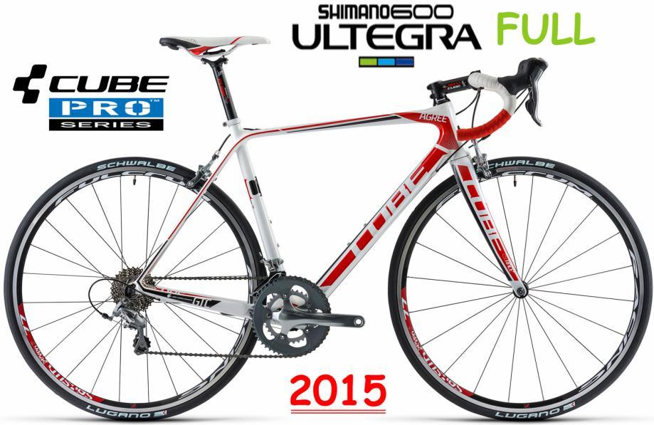 XXL Cube Agree GTC PRO 62cm FULL ULTEGRA Cestovni Bicikl Specijalka