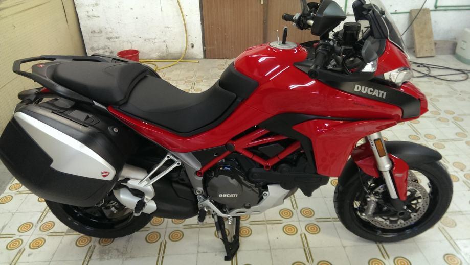 Ducati Multistrada 1200 touring, 2015 god.