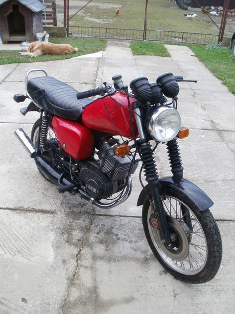 1990 MZ ETZ 125 - Moto.ZombDrive.COM