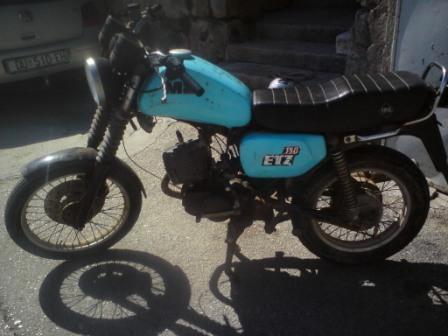 MZ ETZ 150 cm3, 1990 god.