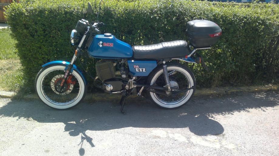 MZ ETZ 250 Myydään huutokaupalla 250 cm³ 1984 - Orimattila
