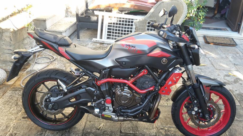 Yamaha Mt 07 Moto Cage 2015 God