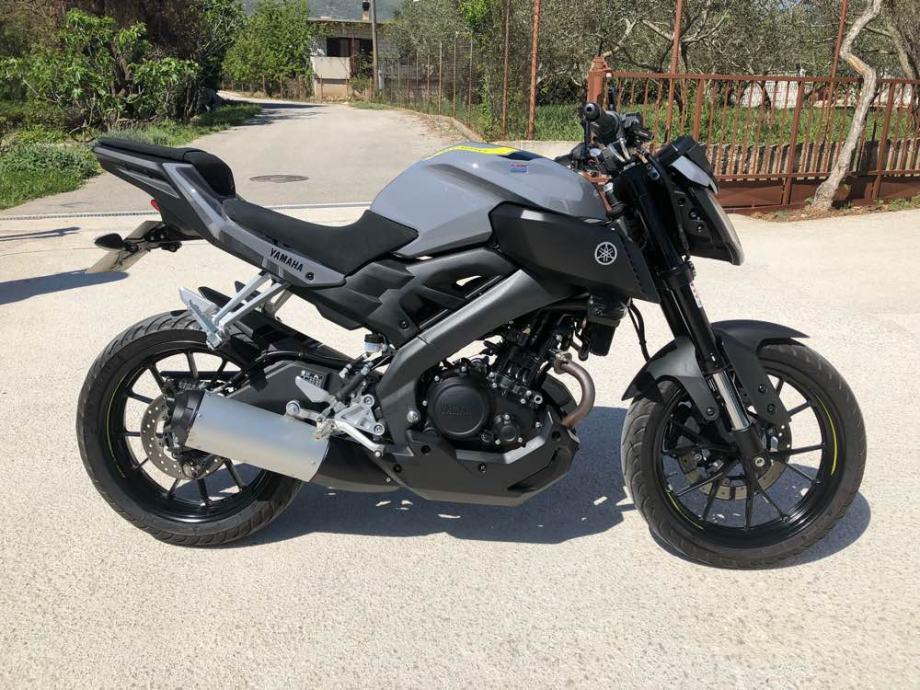 Yamaha MT-125 125 cm3 ABS HITNO, 2017 god.