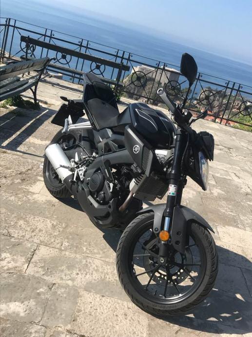 Yamaha MT-125 125 cm3, 2017 god.