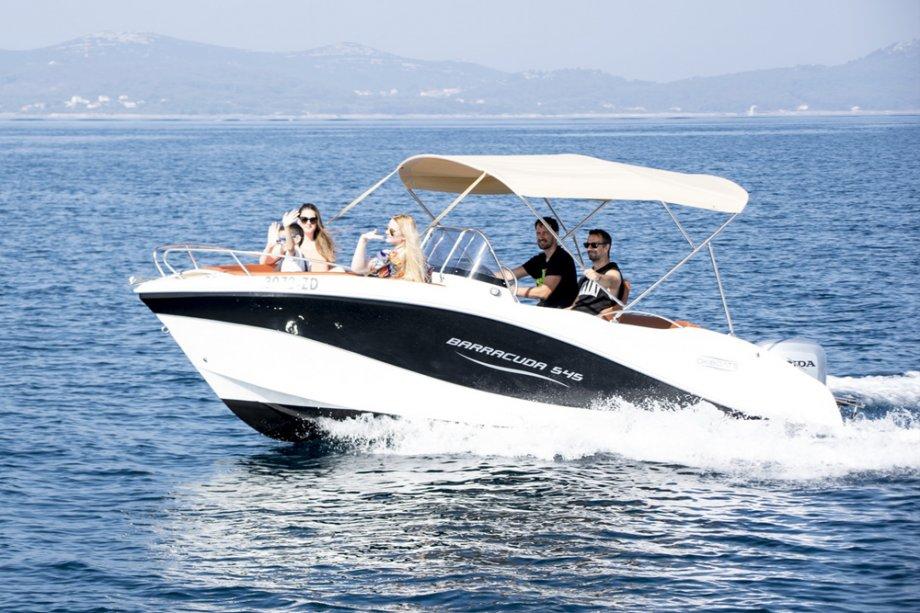RENT-A-BOAT Barracuda 545