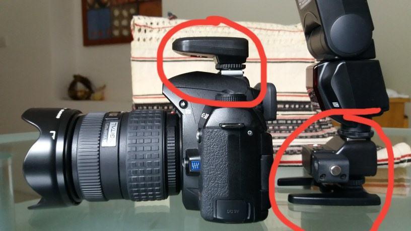 Olympus Daljinski radijski okidać za blic fleš digitalne fotoaparate