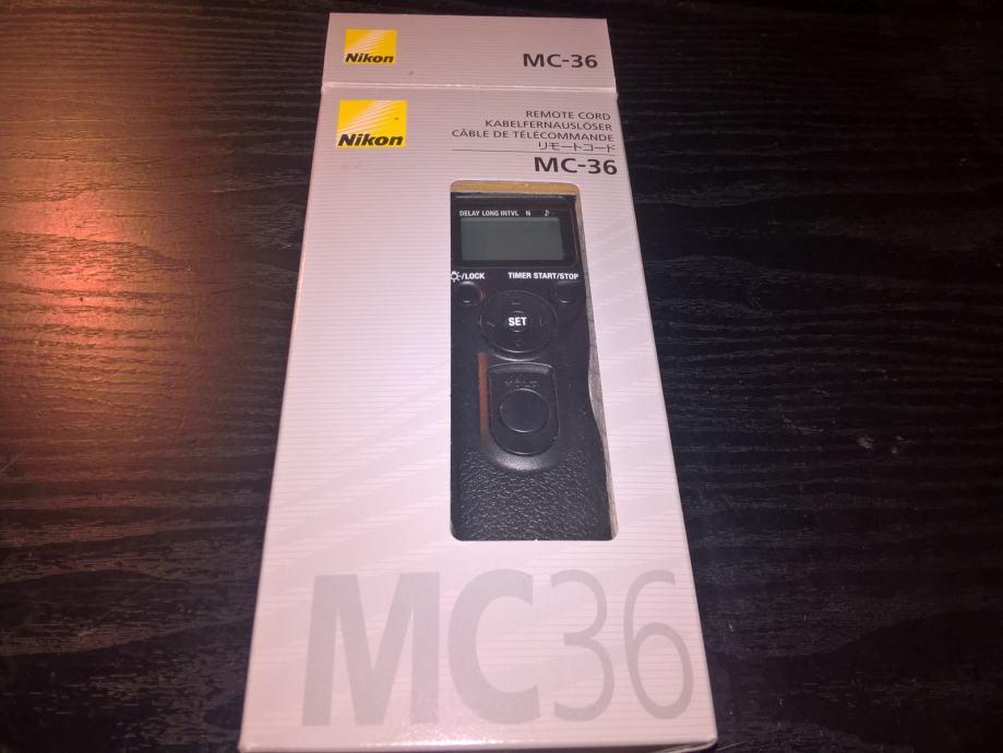 NIkon Daljinski okidač MC-36 nova cijena  599 kn