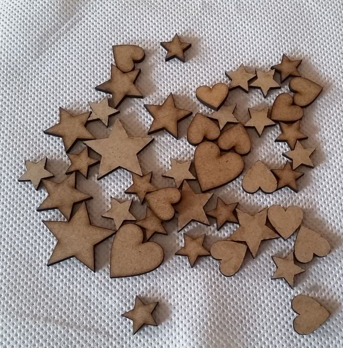 Decoupage elementi od drva