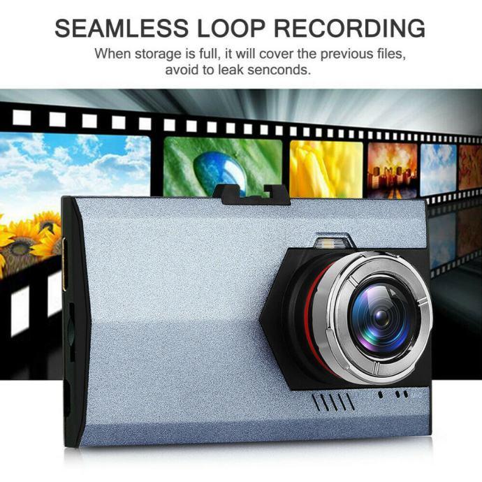 Auto kamera FullHD 12mpix snimanje s noćnim senzorom,140 kut snimanja