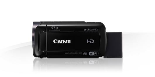 Canon Legria HF R78 Wi-Fi FullHD digitalna video kamera camcorder HF-R