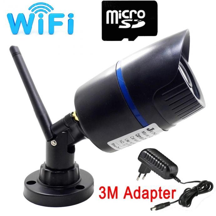 IP kamera WIFI kamera video nadzor IR-cut noćno SD snima + Adapter