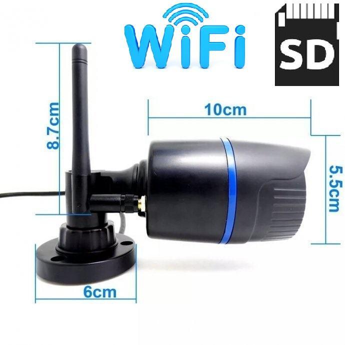 IP kamera WIFI kamera video nadzor kamera cctv IR-cut noćno SD snima