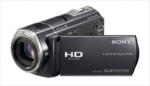 Sony digitalna kamera HR-CX 520 Full HD AVCHD