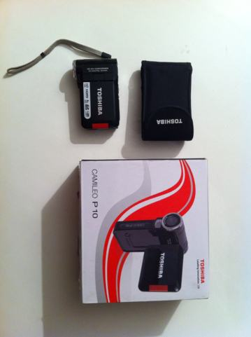 Video kamera TOSHIBA CAMILEO P10