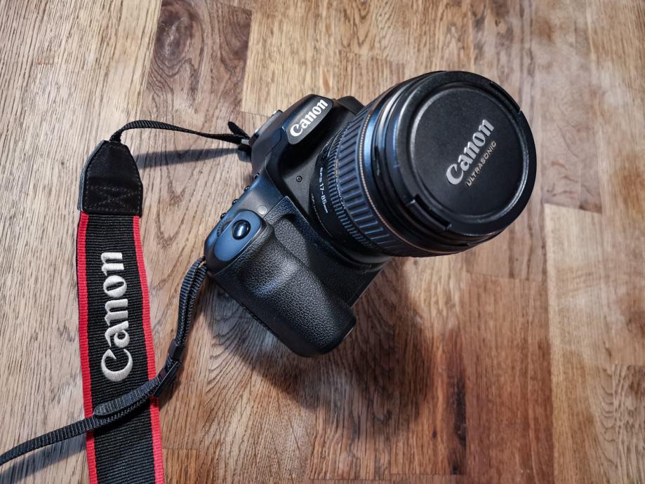 Canon EOS 40D sa objektivom EFS 17-85 mm
