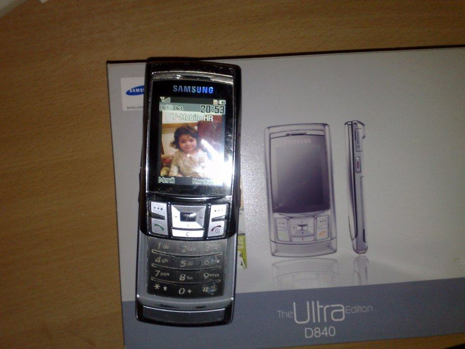 SAMSUNG MOBILINI TELEFON HANDY SGH-D840  THE ULTRA EDITION SLIDER