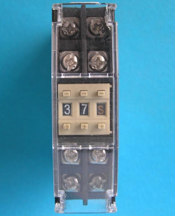 Vremenski relej - Timer (tajmer) DIN50