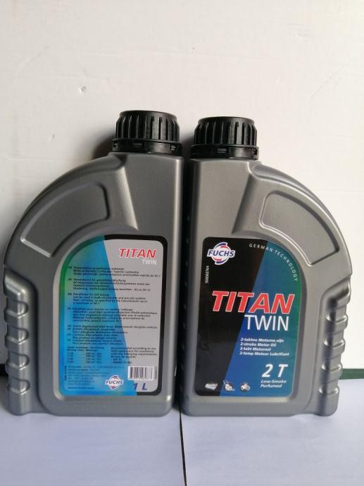 Fuchs Titan Twin - dvotaktol