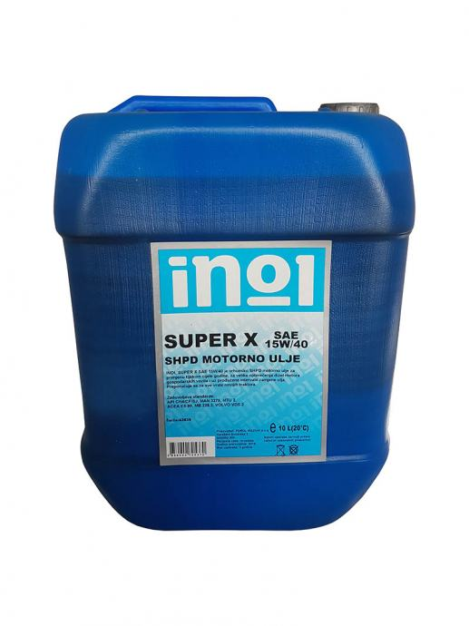 Motorno ulje Inol Super X 10/1