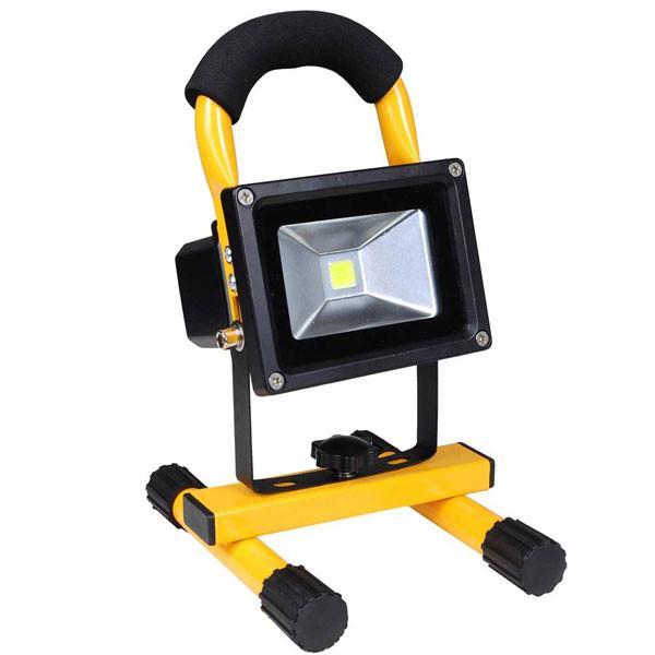 Reflektor akumulatorski LED, 10 W