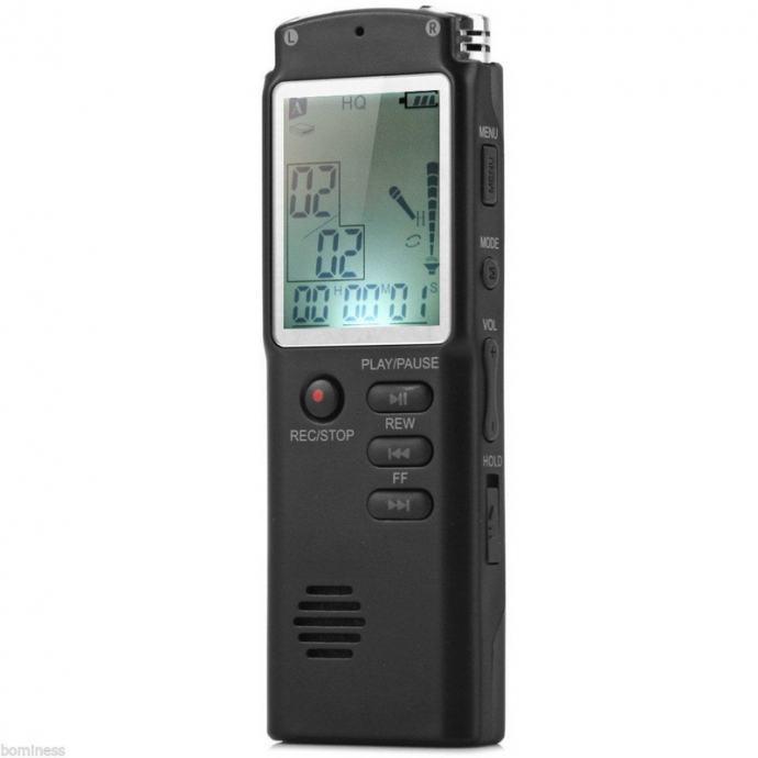 8GB diktafon/MP3 player
