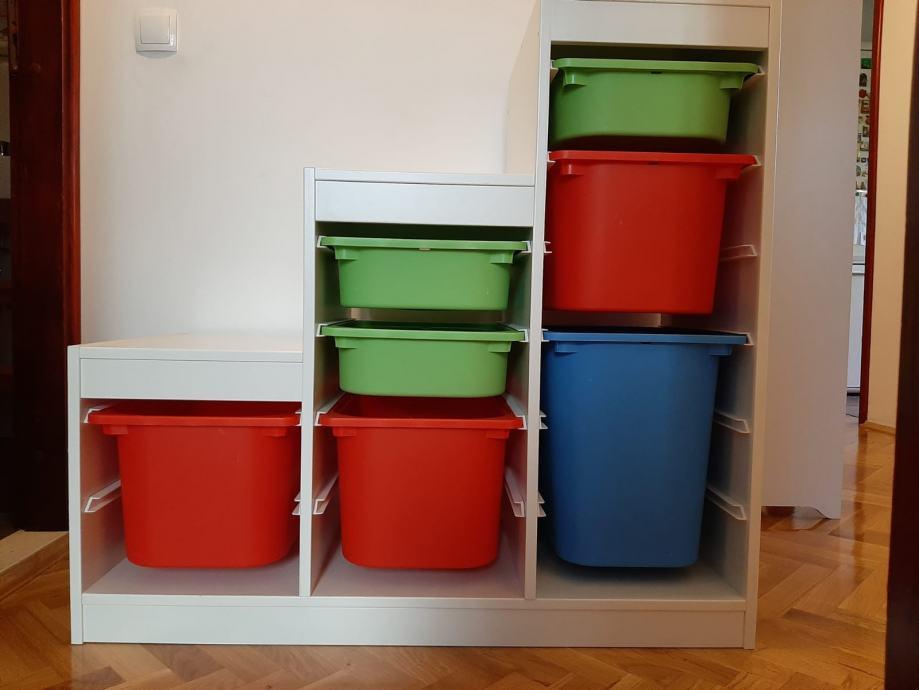 IKEA TROFAST komoda za igračke