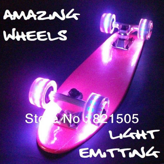 Skateboard skejtbord Penny sa svjetlecim kotacima...NOV U VIŠE BOJA...