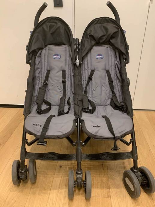 Kišobran kolica za blizance/dvoje djece Chicco