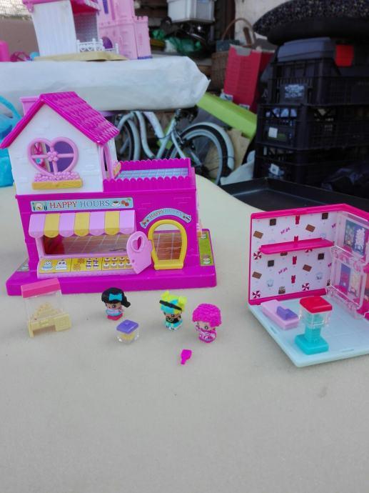 Set za igru: Mini slastičarnica sa 3 lutkice