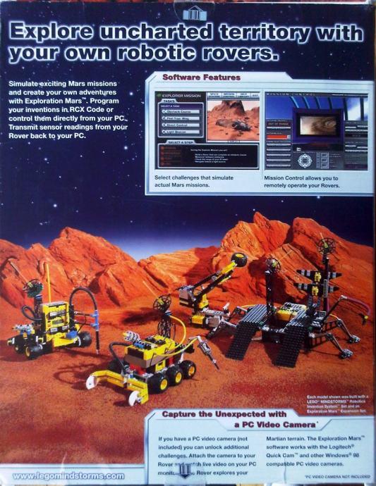 Lego Mindstorm Robotics Invention System + Mars ...